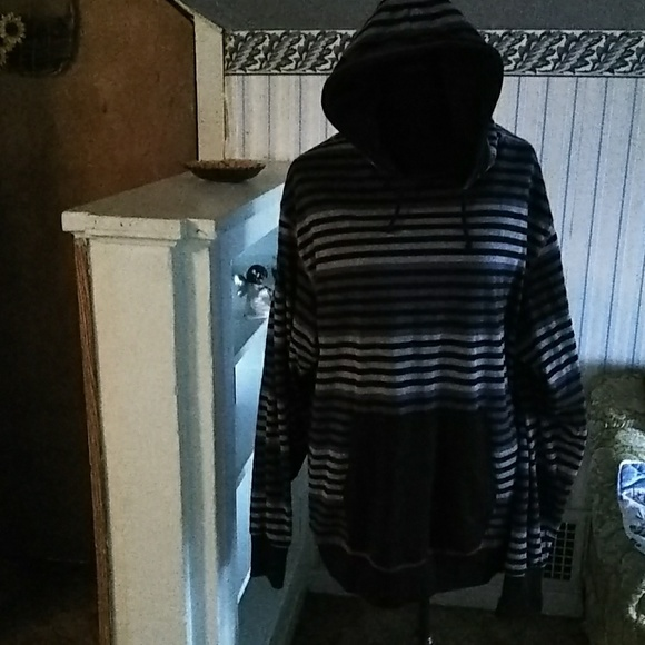 c494811238edf brooklyn express Sweaters | Gray Black Hoodie | Poshmark